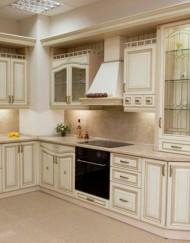 кухни угловые светлые фото